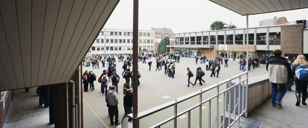 Wegvoeringsstraat Sint-Catharinacollege