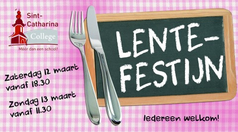 Lentefestijn Sint-Catharinacollege