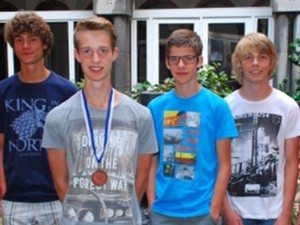 Vier leerlingen geslaagd in de 1e ronde van de Junior Olympiade Natuurwetenschappen