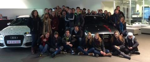 Bedrijfsbezoek Audi Sint-Catharinacollege