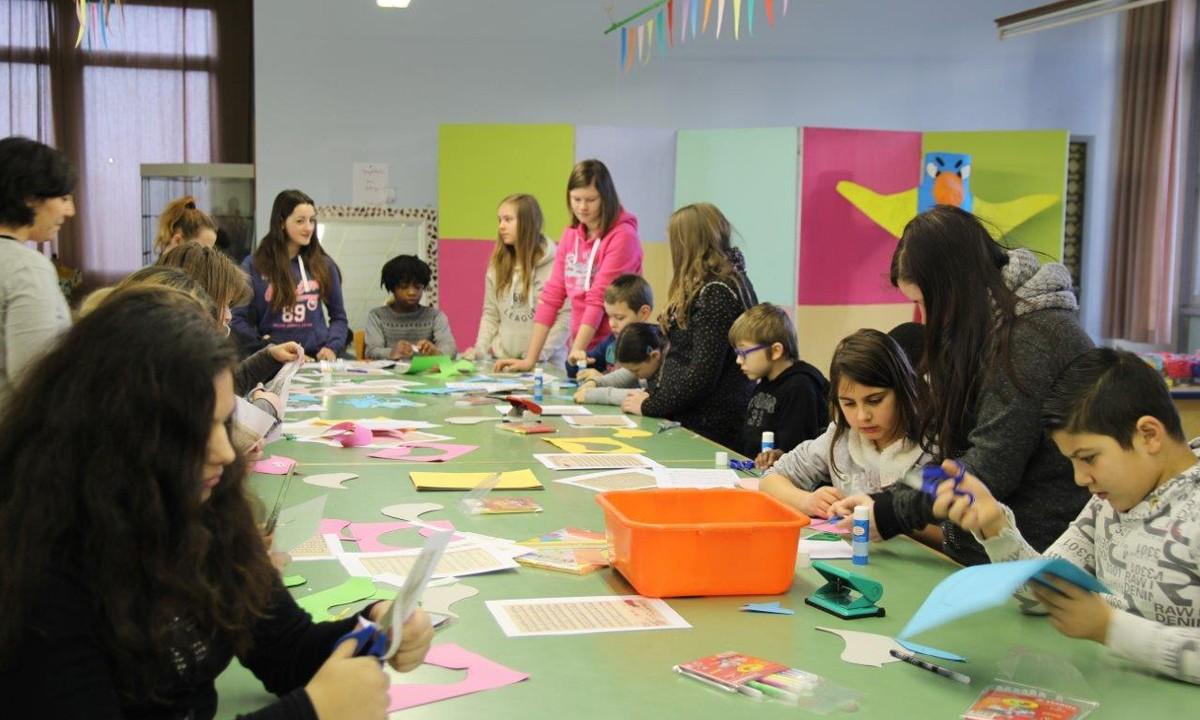 Project gedichtendag Sint-Catharinacollege De Zeppelin