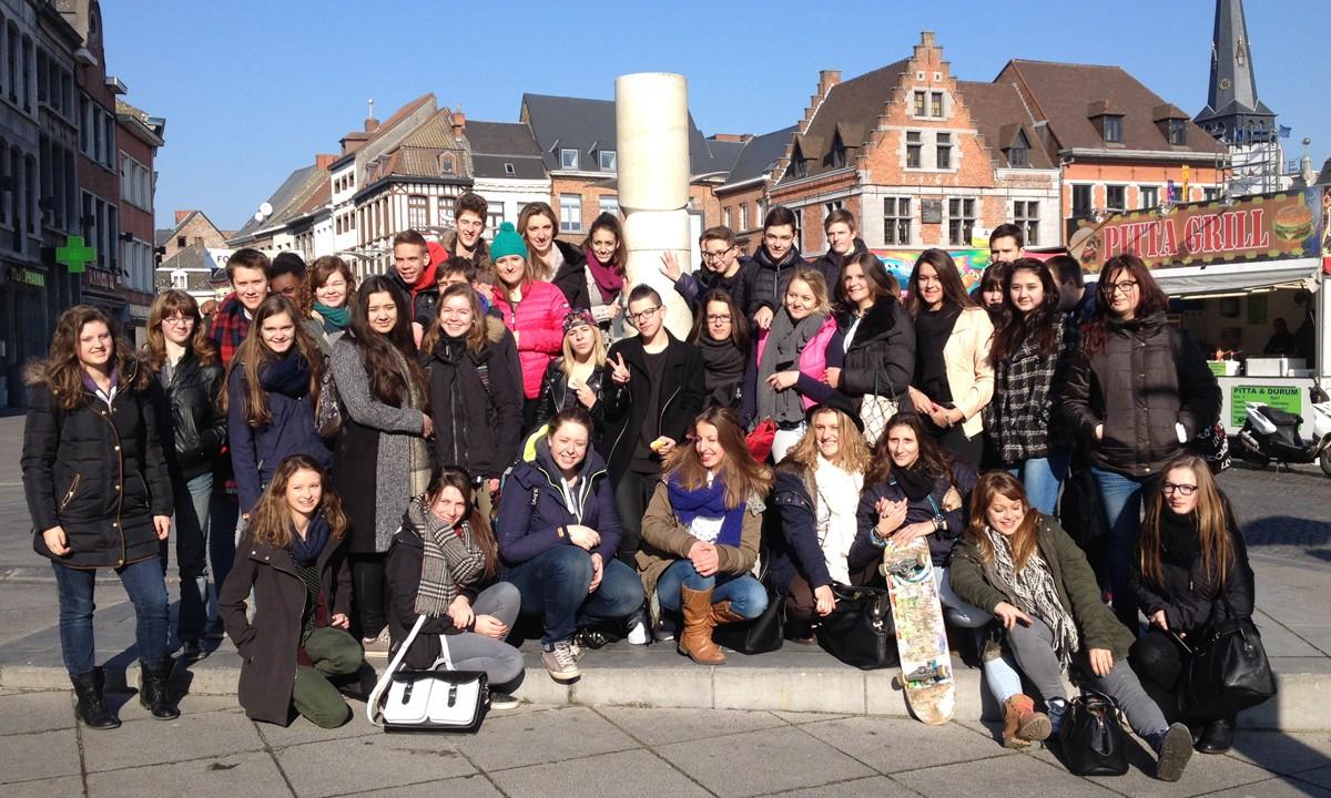 Taaluitwisseling te Ath Sint-Catharinacollege