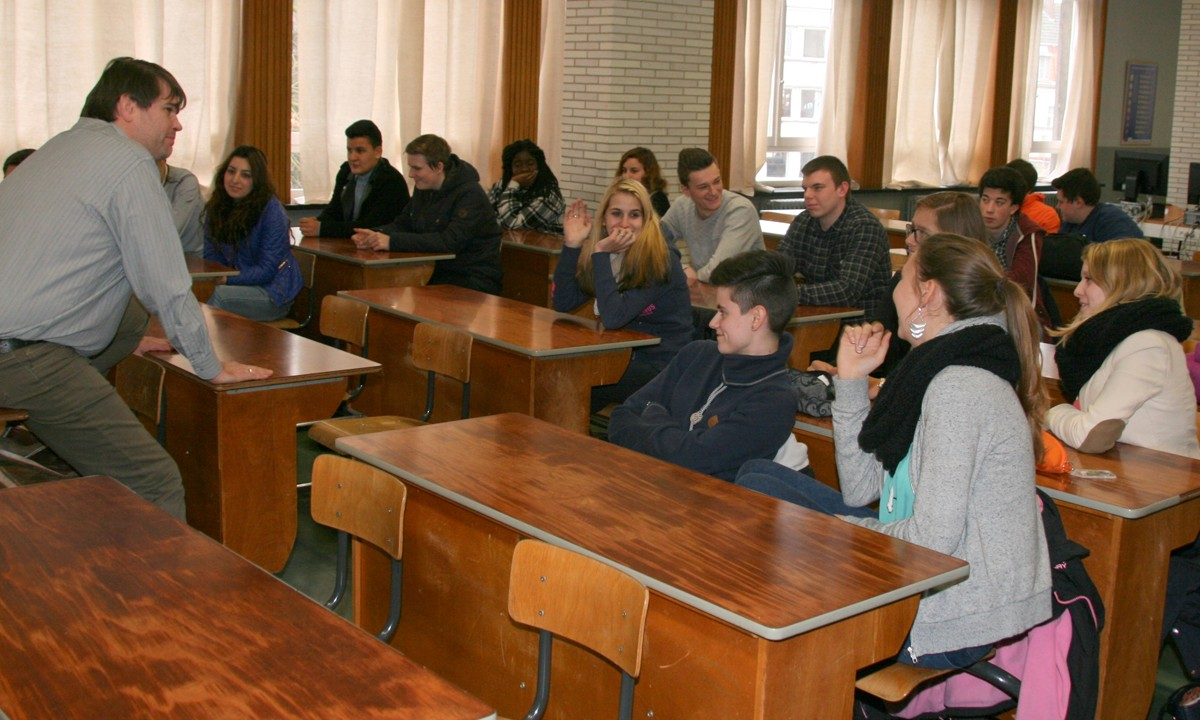 Ondernemers voor de klas Sint-Catharinacollege