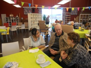 Praatcafé met senioren 4VV