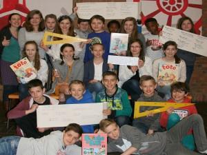 6de leerjaar op bezoek in het Sint-Catharinacollege