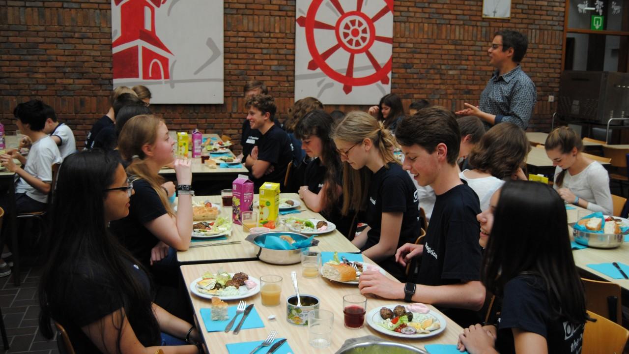 Griekse dag Sint-Catharinacollege