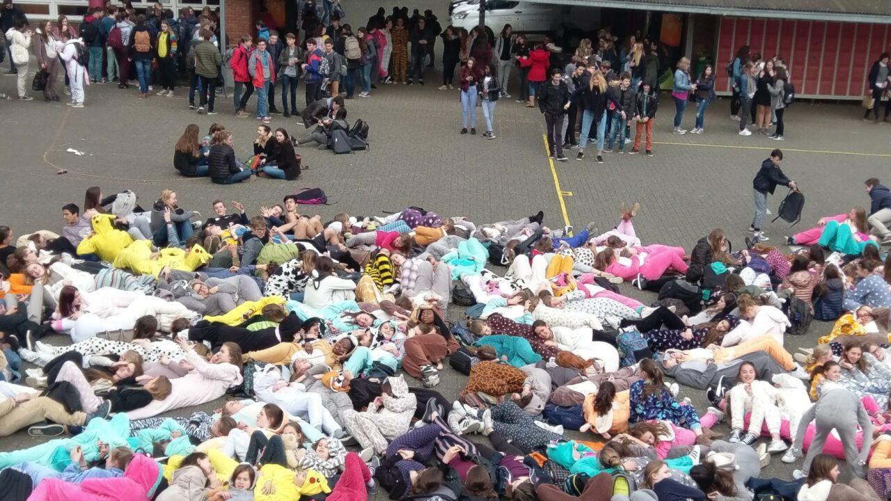 Pyjamadag Sint-Catharinacollege