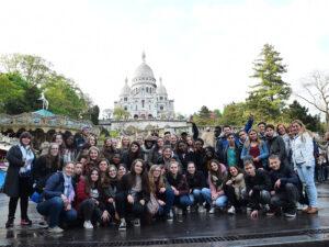 4e jaren naar Parijs